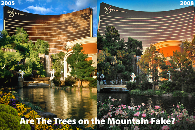 Wynn Las Vegas Fake Trees