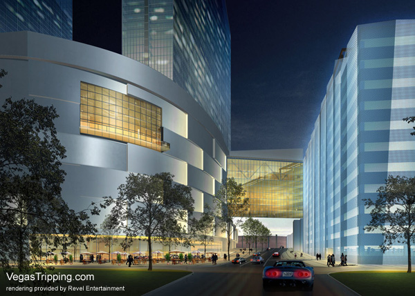 Revel Atlantic City Architectural Renderings -  Massachussets Ave