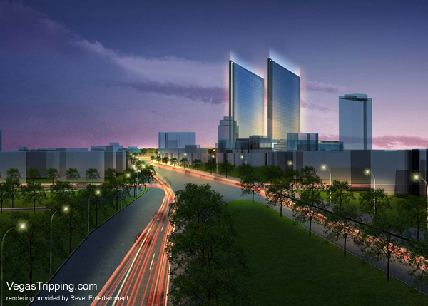 Revel Atlantic City Architectural Renderings -  Pacificave