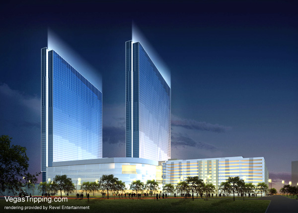 Revel Atlantic City Architectural Renderings - Rear View