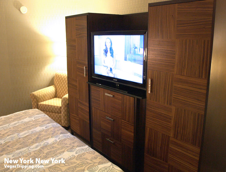 New York New York Park Avenue Room  Review Armoire2