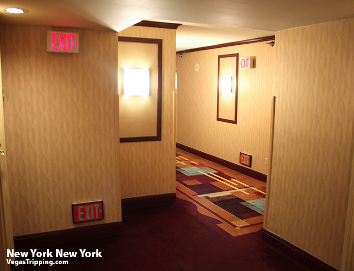 New York New York Park Avenue Room  Review Hallway