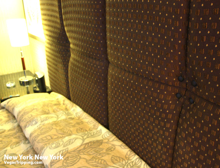 New York New York Park Avenue Room Review Headboard
