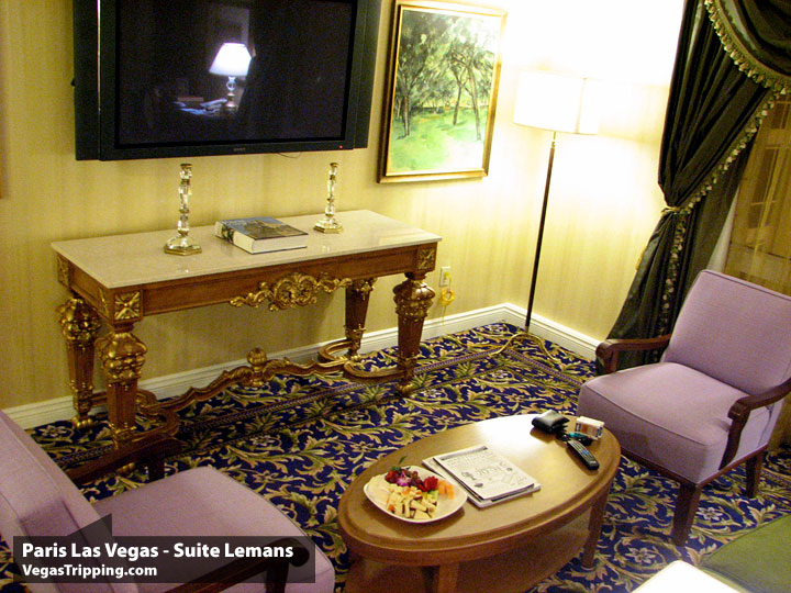 Paris Las Vegas : Lemans Suite Review : Tv