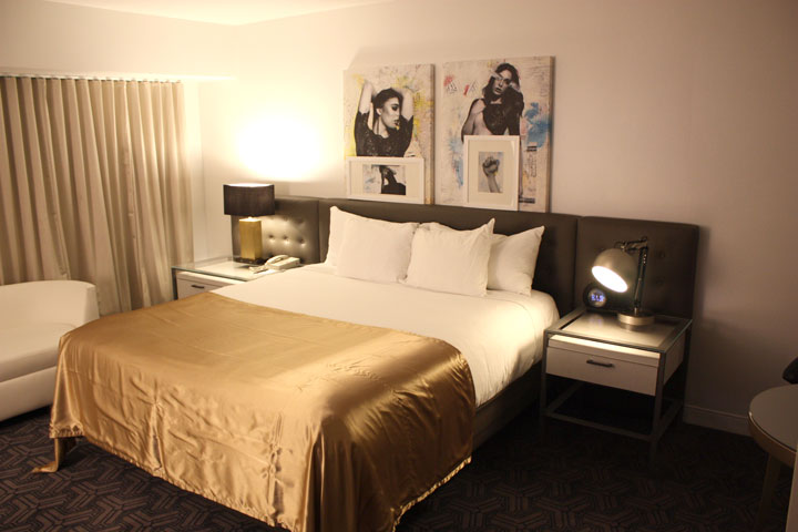Planet Hollywood Ultra Hip Room Review Bed