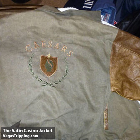Satin Jackets Caesars Leath