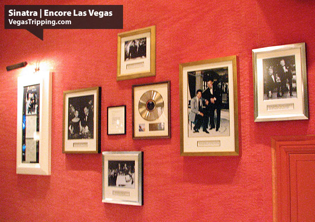 Sinatra Restaurant Review - Encore Las Vegas :  Awards Wall