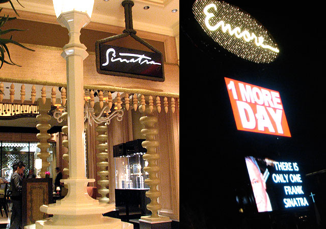 Sinatra Restaurant Review - Encore Las Vegas :  Review