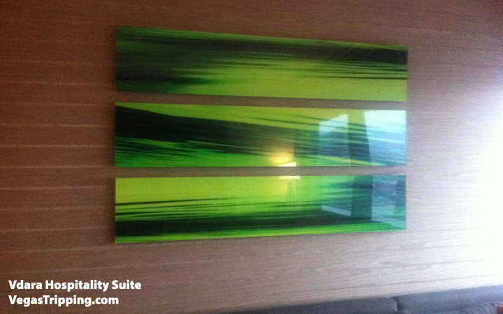 Vdara Hospitality Suite Review: Artwork