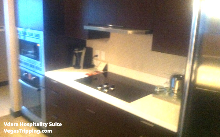 Vdara Hospitality Suite Review: Kitchen Stove