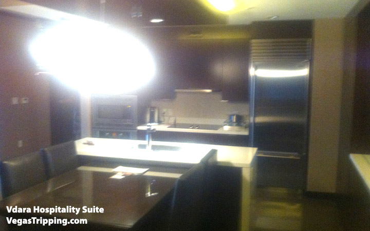 Vdara Hospitality Suite Review: Kitchenette