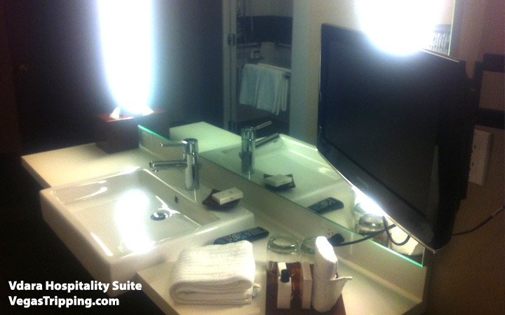 Vdara Hospitality Suite Review: Sink Alt