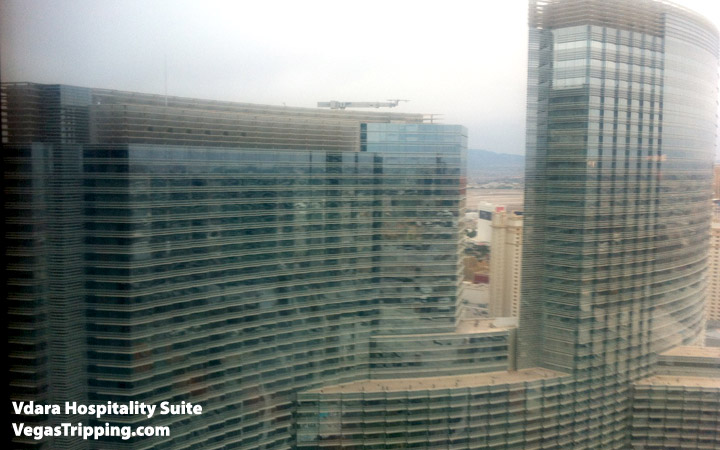 Vdara Hospitality Suite Review: View