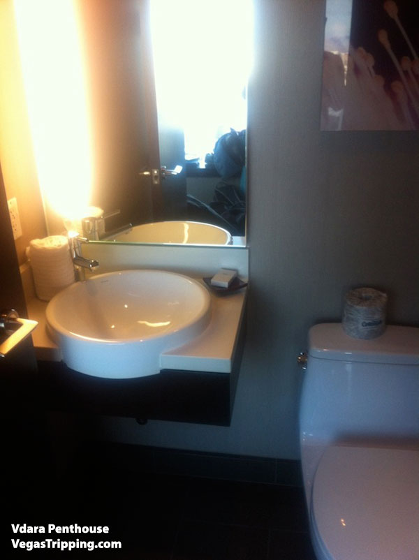Vdara Penthouse Review Toilet