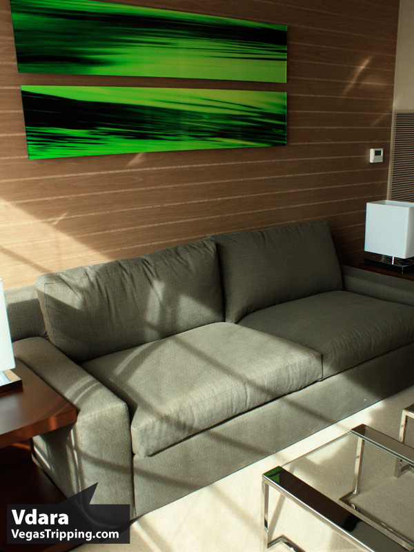 Vdara Review Couch