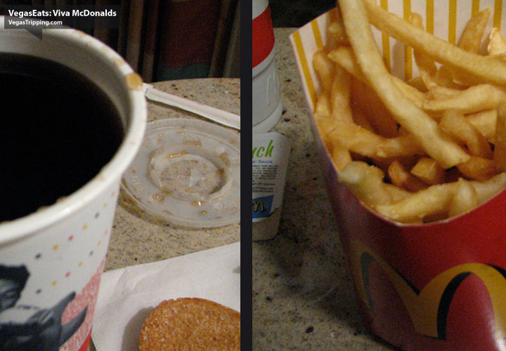 Viva McDonalds Las Vegas Strip Review - Fries